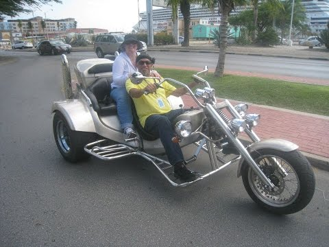 Trikes Aruba. 1 of 5 Arriving and Testing Trike