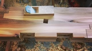 How To Cut A Japanese Scarf Joint (Kanawa Tsugi)