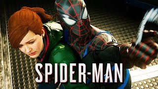 Spiderman Gameplay German PS4 PRO - MJ in geheimer Mission