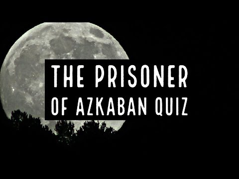 The Prisoner Of Azkaban Book Quiz