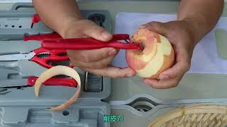 캠핑 휴대용 취사 BBQ 주방 도구 칼 도마 세트 A형…