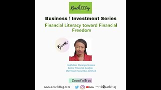 Financial Literacy toward Financial Freedom