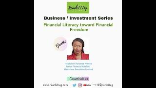Financial Literacy toward Financial Freedom