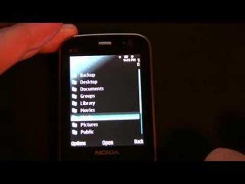 Nokia N78 Remote Disk