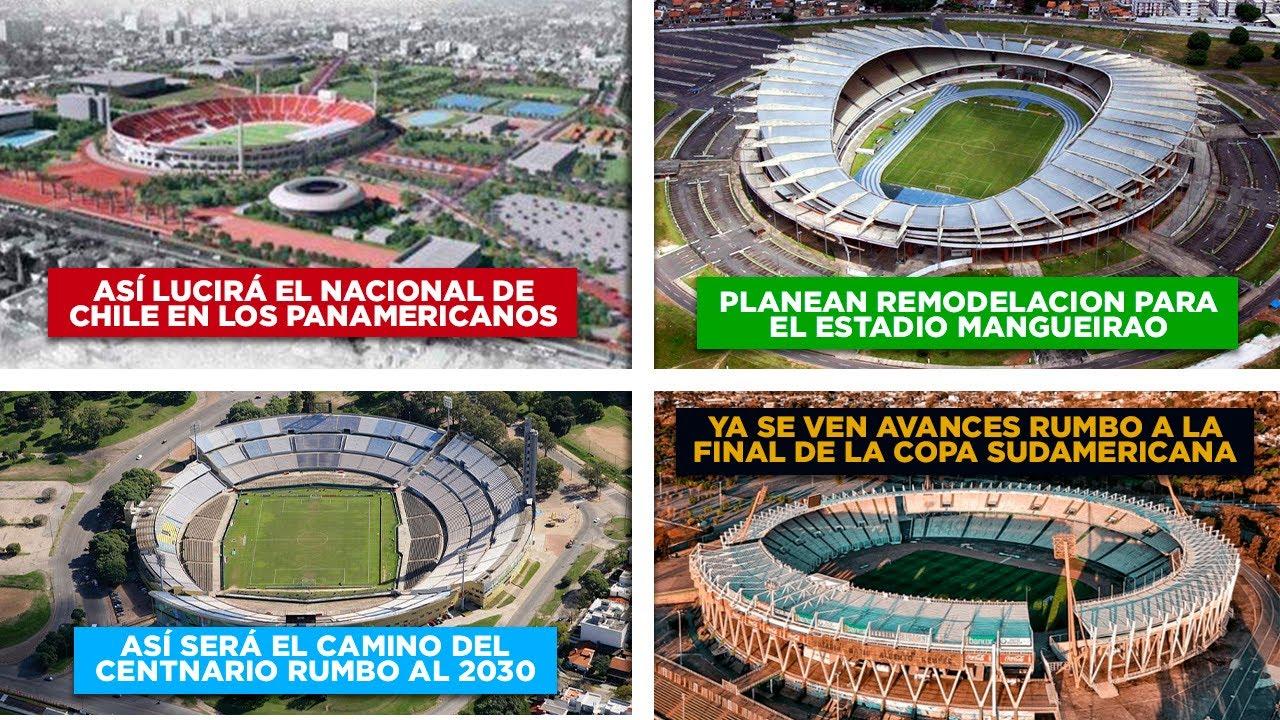 Avanza mejoras de Mario A. Kempes - Remodelarán el Mangueirão - El Estadio Centenario rumbo 2030