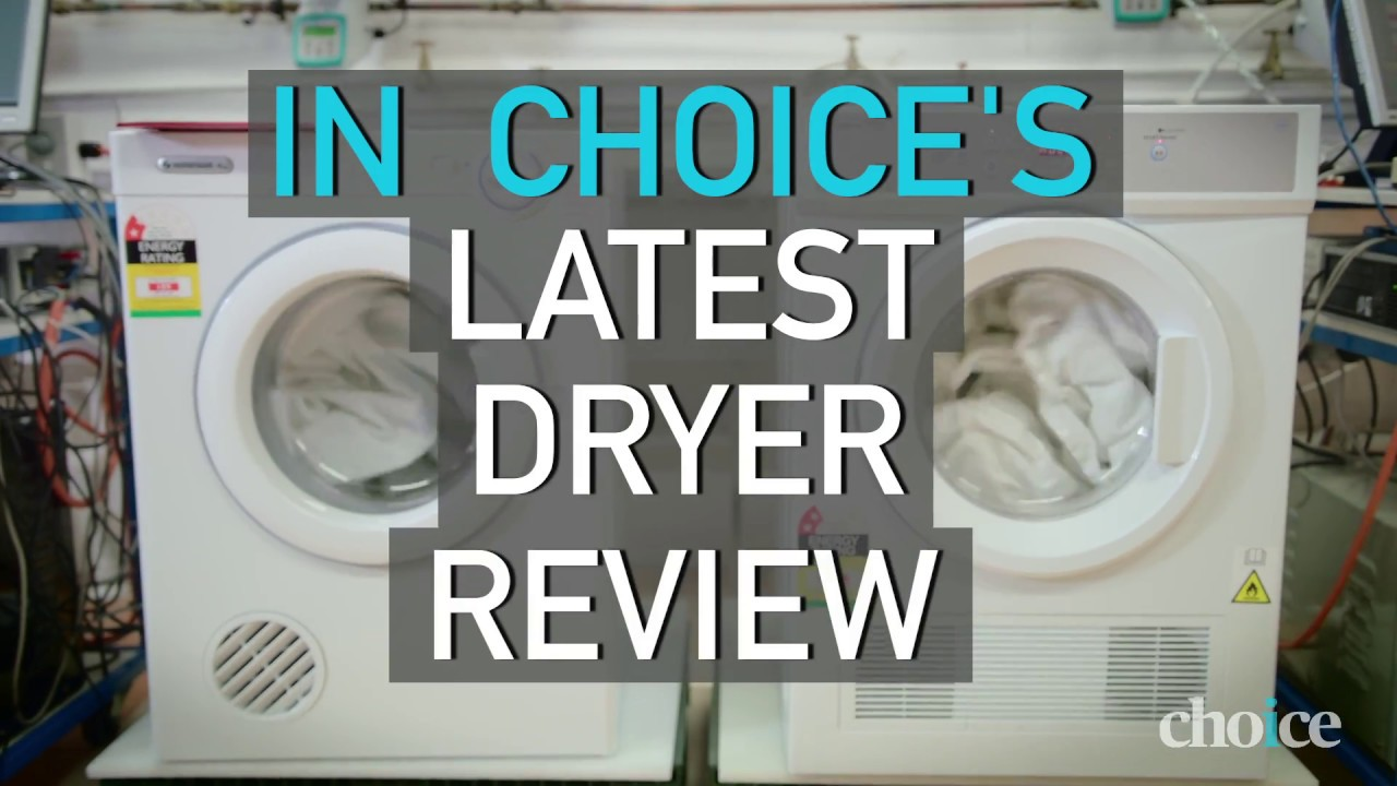 How To Find The Best Clothes Dryer   CHOICE