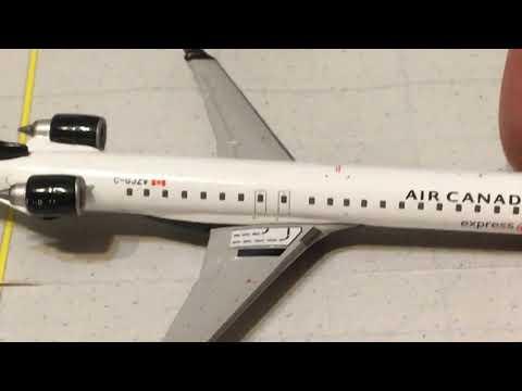 Gemini Jets 1/400 Air Canada Express CRJ900 Model Review