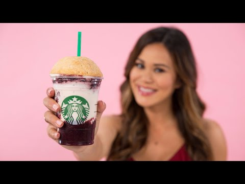 DIY Starbucks Cherry Pie Frappuccino   Eat the Trend