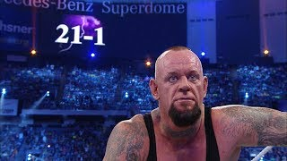 Director's cut of The Undertaker's Streak ending thumbnail