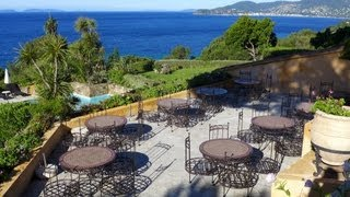 Mon avis sur l'hôtel Souleias sur la plage de Gigaro, à La-Croix-Valmer : vue et piscine grandioses.
