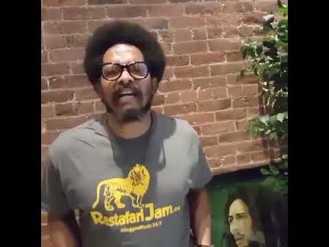 Rohan Marley Big Ups Rastafari JAMS (REGGAE Radio station)