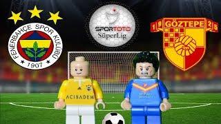 Fenerbahçe Göztepe Maç Özeti 2-1 (LEGO SÜPER LİG MAÇ ÖZETLERİ)/ Lego Football Film Goals Highlights