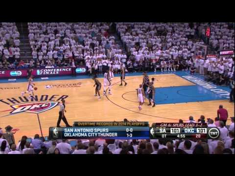 Spurs Too Smart For Durant and Westbrook, Bounce Thunder With Game 6 OT Win