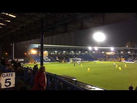 Bury 0-3 Woking, 2nd Goal