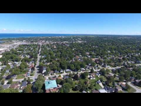 Collingwood Ontario Aerial Photography