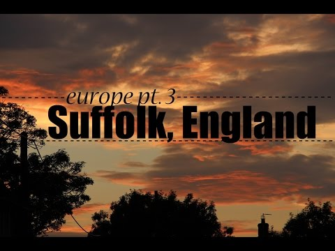 Suffolk, England VLOG //Sashagreenbean