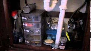 Organized Home/organize Under A Small Bathroom Sink