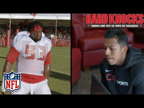 Aguayo Gets Cut & McCoy Tests the Boundaries of the New Celebration Rules | Hard Knocks | NFL