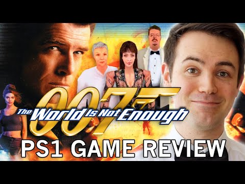 The World Is Not Enough Ps1 Game Review Youtube