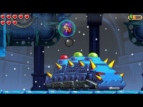 Shantae and the Pirateu0027s Curse (Wii U) 100% Walkthrough Part 11 - Abandoned Factory