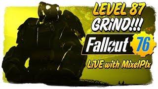Level 87 Grind CONTINUES /w MixelPlx - 10k Milestone!!  - Fallout 76 LIVE🔴 thumbnail