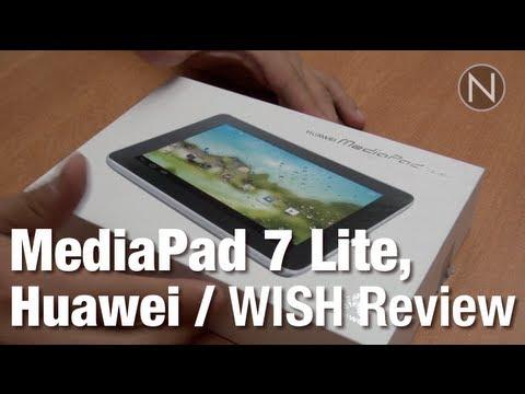tablet para comenzar mediapad 7 lite de huawei wish review youtube. Black Bedroom Furniture Sets. Home Design Ideas