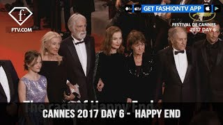Cannes Film Festival 2017 Day 6 Part 1 - Happy End | FTV.com