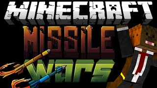 Minecraft MISSILE WARS Minigame w/ The Pack