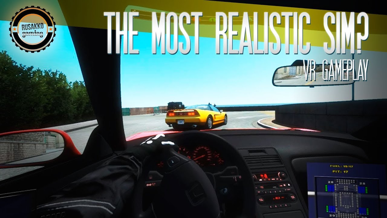is this the most realistic racing simulator vr gameplay htc vive youtube. Black Bedroom Furniture Sets. Home Design Ideas