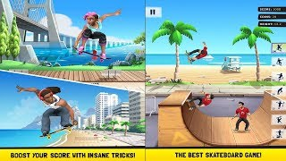 Flip Skater Android/IOS Gameplay HD | Skateboard Game like the Best!