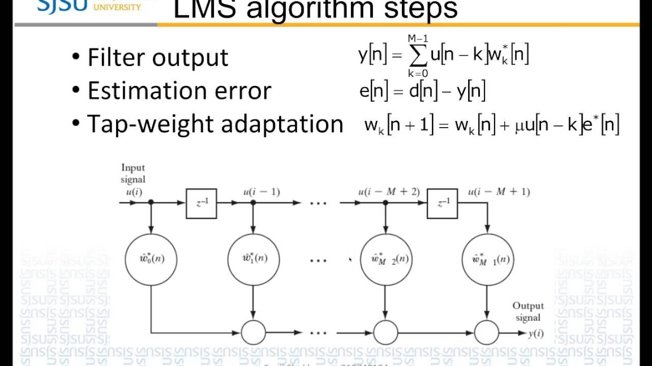 EE278 LMS Adaptive Filter: DSP IP core: Fenil Shukla