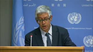 The humanitarian situation in Yemen & other topics - Daily briefing (18 August 2017)