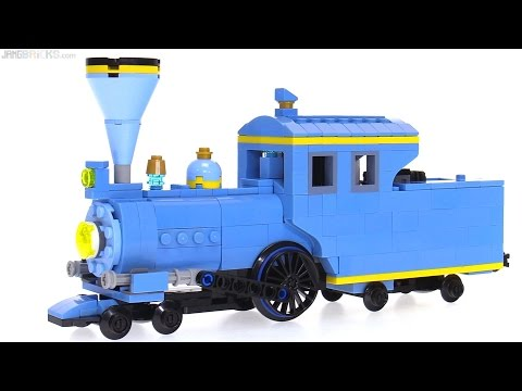 Working LEGO Little Engine That Could 🚂 tank engine MOC