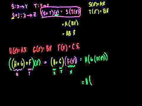 Matrix Product Associativity Bangla
