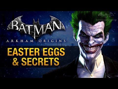 Batman: Arkham Origins - Easter Eggs & Secrets
