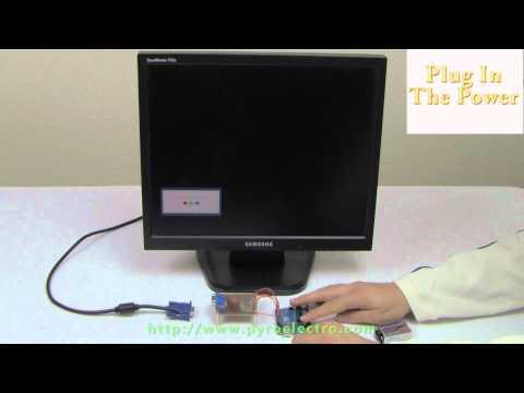Arduino Hard Drive POV light Clock - YouTube