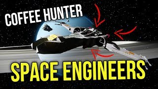 Space Engineers: Z-95 Coffee Hunter Star Fighter #9 Survival Sunday