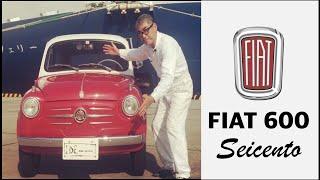 """【""""イタリア"""" オヤジ・イデリーノの Classic Car 図鑑】FIAT 600 Seicento / フィアット 500 の兄貴分600 セイチェント"""
