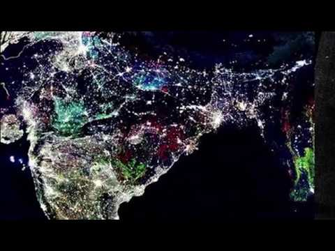 nasa releases map of india on diwali night - photo #2