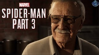 Spider-Man PS4 Walkthrough Part 3 - STAN LEE CAMEO!