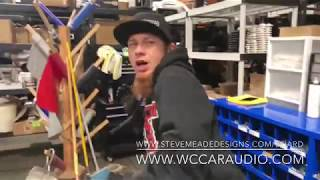 Testing the new air nozzle - coming in with the HEAT! Funny Shop Prank SMD HQ