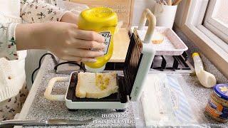 (ENG) 드디어 샌드위치 메이커 구매 ! 크로플 만들…