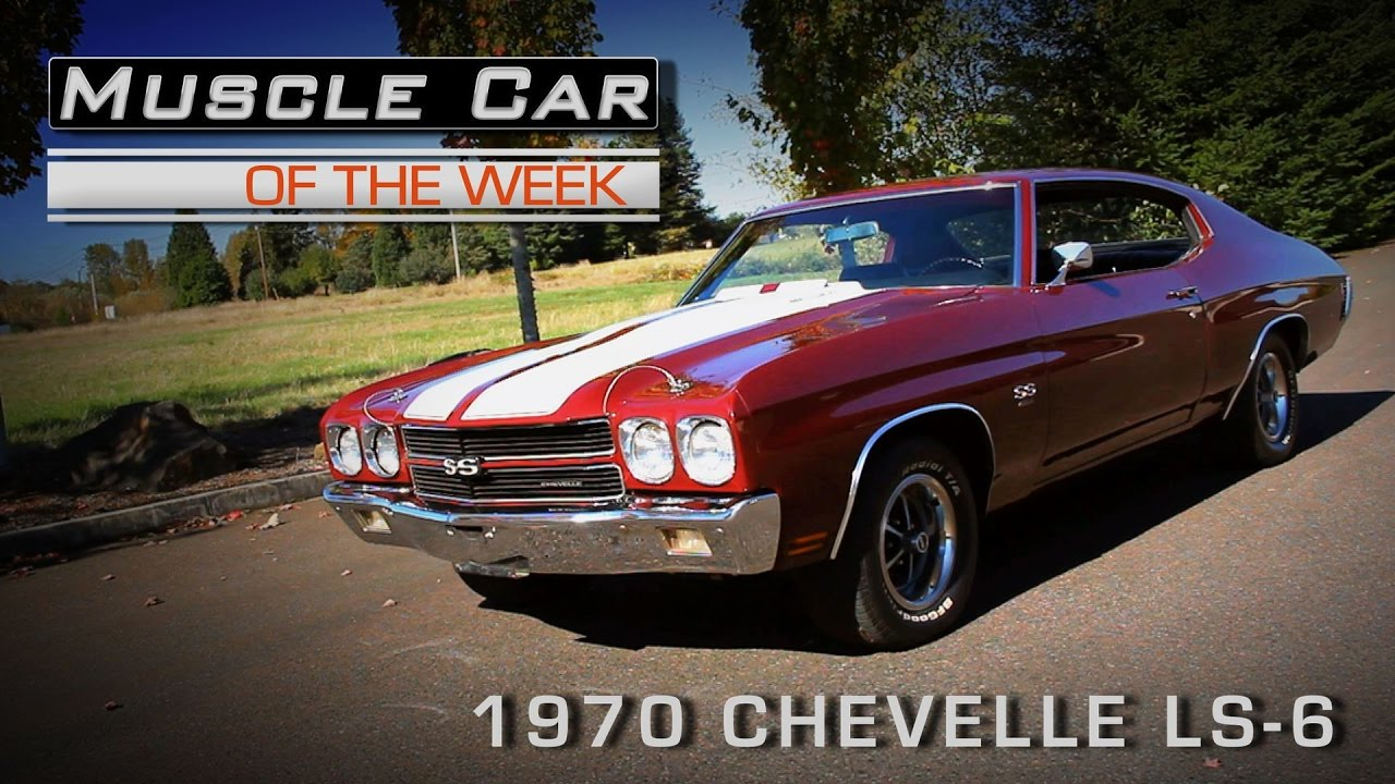 Muscle Car Of The Week Video Episode #182: 1970 Chevrolet Chevelle ...