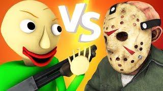 Балди vs Джейсон 2: Дробовик (Пятница 13 хоррор игра 3D анимация)