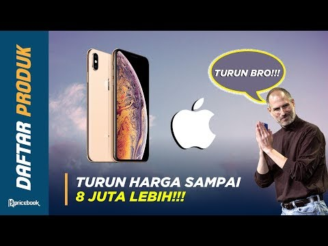 5 IPhone Terbaik TURUN HARGA, IPhone X Turun Sampai 4 JUTA!!