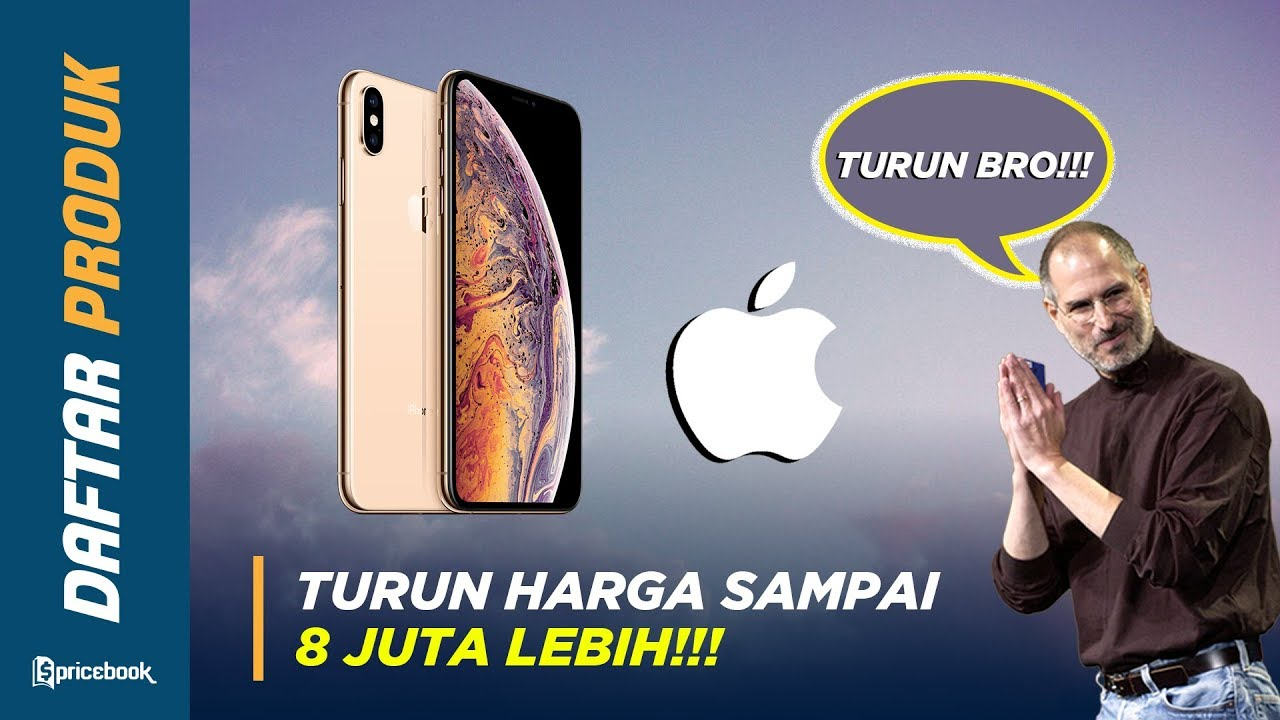5 iPhone Terbaik TURUN HARGA, iPhone X Turun Sampai 4 JUTA ...