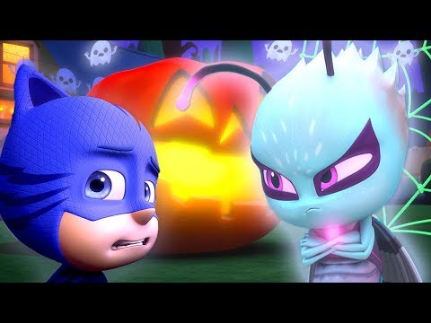 PJ Masks Episode | CLIPS | Trick Or Treat: Motsuki | 🎃🦇Happy Halloween 🦇🎃Cartoons for Kids