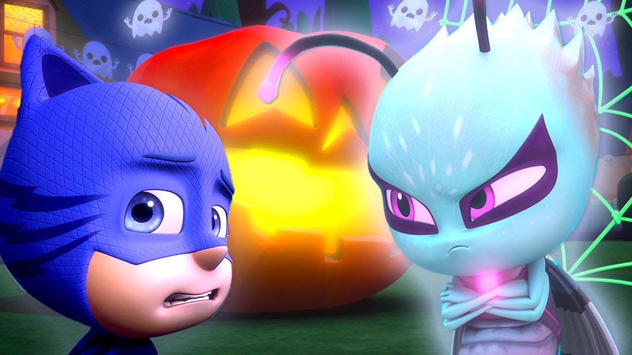 PJ Masks Episode | CLIPS | Trick Or Treat: Motsuki | ????????Happy Halloween ????????Cartoons for Ki