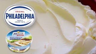 ФИЛАДЕЛЬФИЯ и  МАСКАРПОНЕ В ДОМАШНИХ УСЛОВИЯХ. Как сделать сливочный сыр. PHILADELPHIA / Mascarpone