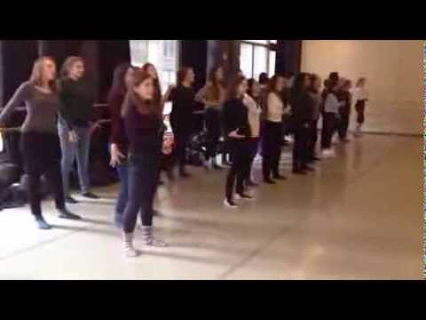 Wimbledon High A Cappella in NYC - Cabaret Workshop on Broadway